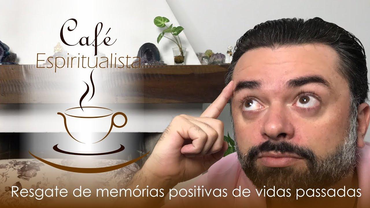 Daniel souza apresentando o programa café espiritualista