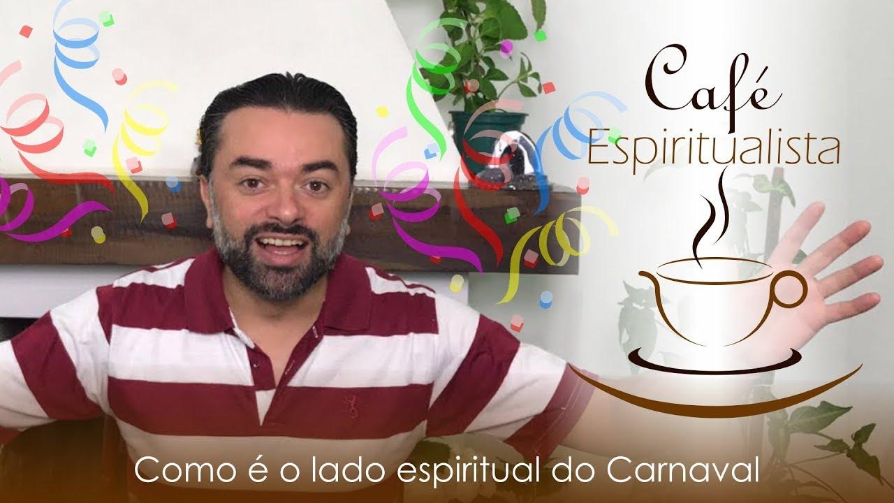 Daniel souza fazendo a transmissão do café espiritualista